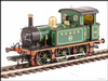 Hattons H4-P-002 SECR P Class 0-6-0T 753 in SE&CR full lined green (with brass)